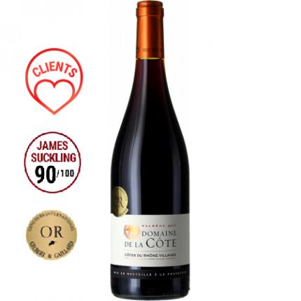 Червено вино | COTE DU RHONE VILLAGES - VALREAS - DOMAINE DE LA CÔTE