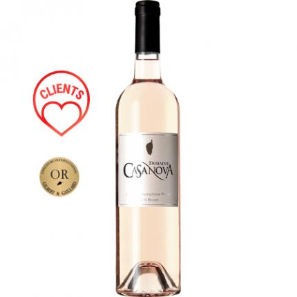 Вино Розе | DOMAINE CASANOVA - GRIS ROSE