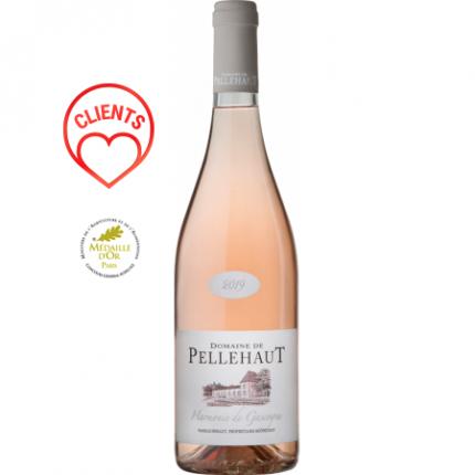 Вино розе | HARMONIE DE GASCOGNE ROSE 2019 - DOMAINE PELLEHAUT