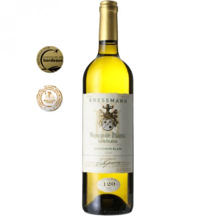 Бяло вино   KRESSMANN MONOPOLE BLANC 2019
