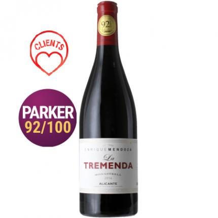 Червено вино | LA TREMENDA 2016 - BODEGAS MENDOZA