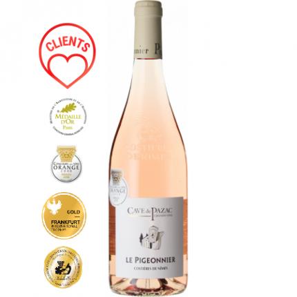 Вино Розе | LE PIGEONNIER ROSE 2019 - CAVE DE PAZAC