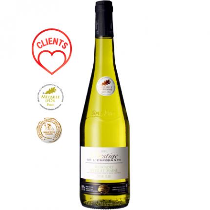 Бяло вино   MUSCADET SEVRE ET MAINE SUR LIE 2019 - DOMAINE DE L'ESPERANCE