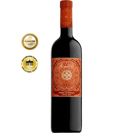 Червено вино   NERO D'AVOLA 2018 - FEUDO ARANCIO