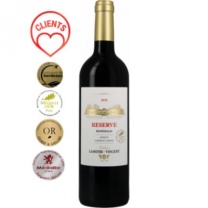 Червено вино | RESERVE 2018 - CHATEAU LAMOTHE-VINCENT