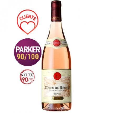 Вино розе | COTES DU RHONE 2018 - E. GUIGAL