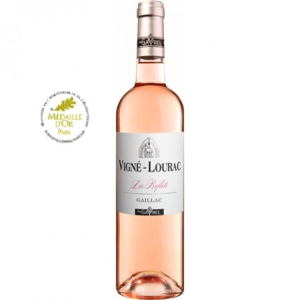 Вино розе | VIGNE-LOURAC LES REFLETS ROSE 2019