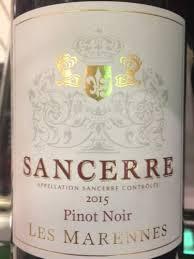 Вино Сансер