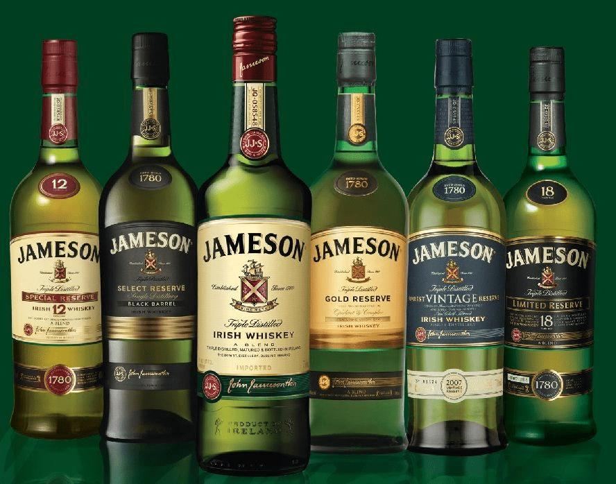 Джеймисън Уиски История