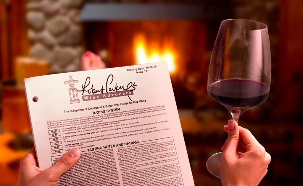 списаниeто wine advocate