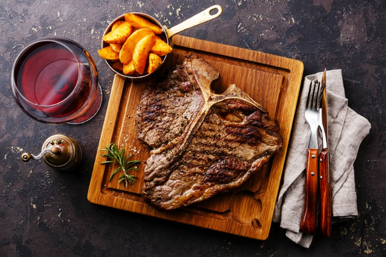говеждо месо с вино